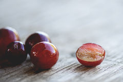 Juicy Grapes Royalty Free Stock Photography