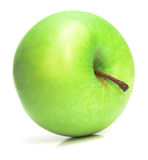 Juicy green apple Stock Photo