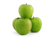 Juicy Green apple Stock Photography