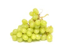 Juicy green grapes Royalty Free Stock Image