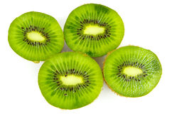 Juicy green kiwi Stock Photography