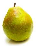 Juicy green pear 3 Stock Photo
