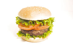 Juicy Hamburger Royalty Free Stock Images