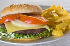 Juicy hamburger meat Royalty Free Stock Photos
