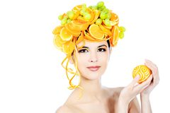 Juicy headwear Stock Image