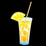 Juicy icy drink Royalty Free Stock Photos