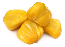 Juicy jackfruit flesh Royalty Free Stock Image