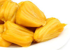 Juicy Jackfruit flesh Stock Image