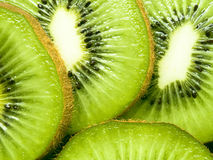Juicy Kiwi. Delicious juicy kiwi close-up Royalty Free Stock Photos