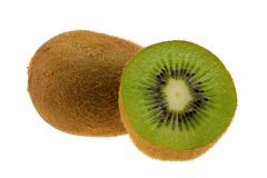 Juicy Kiwi Fruit (Chinese Gooseberry) Royalty Free Stock Photo