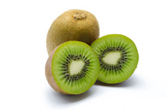 Juicy kiwi fruit Stock Photography