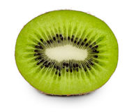 Juicy kiwi fruit isolated on white background Royalty Free Stock Photo