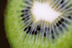 Juicy kiwi fruit. Photograph of Juicy kiwi fruit with macro lens Royalty Free Stock Photos
