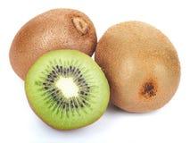 Juicy kiwi fruit set  Royalty Free Stock Photo