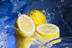 Juicy lemon Royalty Free Stock Image