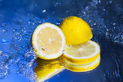 Juicy lemon Royalty Free Stock Images