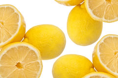 Juicy Lemon Background Royalty Free Stock Photography