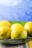 juicy lemon colored golden sunshine Royalty Free Stock Photo