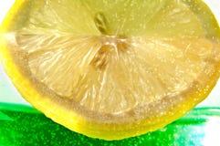 Juicy Lemon Slice Stock Images