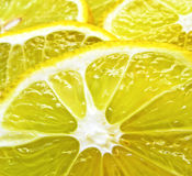 Juicy Lemon Slices Royalty Free Stock Image