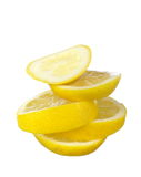 Juicy lemon slices Royalty Free Stock Images