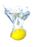 Juicy lemon Stock Images