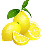 Juicy lemons Royalty Free Stock Image