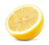 Juicy lemons isolated on the white background Royalty Free Stock Images