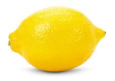 Juicy lemons isolated on the white background Stock Image