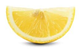 Juicy lemons isolated on the white background Stock Photo