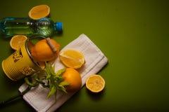 Juicy lemons, source of vitamin c Stock Photography