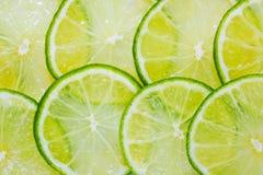Juicy Lime Background Stock Image
