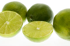 Juicy limes Stock Image