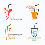Juicy Logo Royalty Free Stock Image