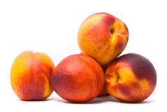 Juicy nectarines Royalty Free Stock Image