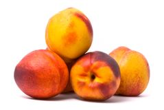 Juicy nectarines Royalty Free Stock Images