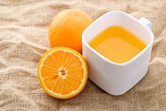 Juicy orange Royalty Free Stock Photos
