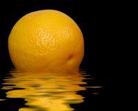 Juicy orange Stock Photos