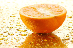 Juicy orange 2 Stock Photography