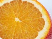 Juicy orange. Slice stock photography
