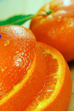 Juicy Orange Royalty Free Stock Images