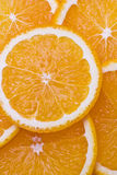 Juicy orange background Stock Photography