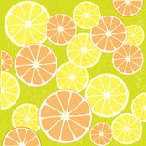Juicy Orange Background Stock Photo