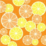 Juicy Orange Background Royalty Free Stock Photo
