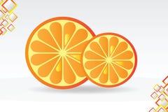 Juicy orange background Royalty Free Stock Photo