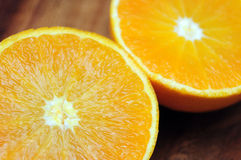 Juicy orange closeup Royalty Free Stock Image