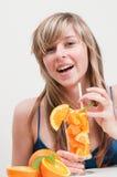 Juicy orange fruits Royalty Free Stock Images