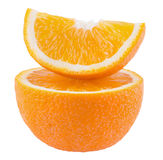 Juicy orange Stock Photography