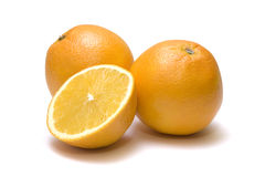 Juicy Orange Refreshment Royalty Free Stock Photos