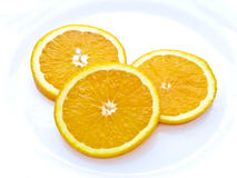 Juicy Orange Slices Royalty Free Stock Photography